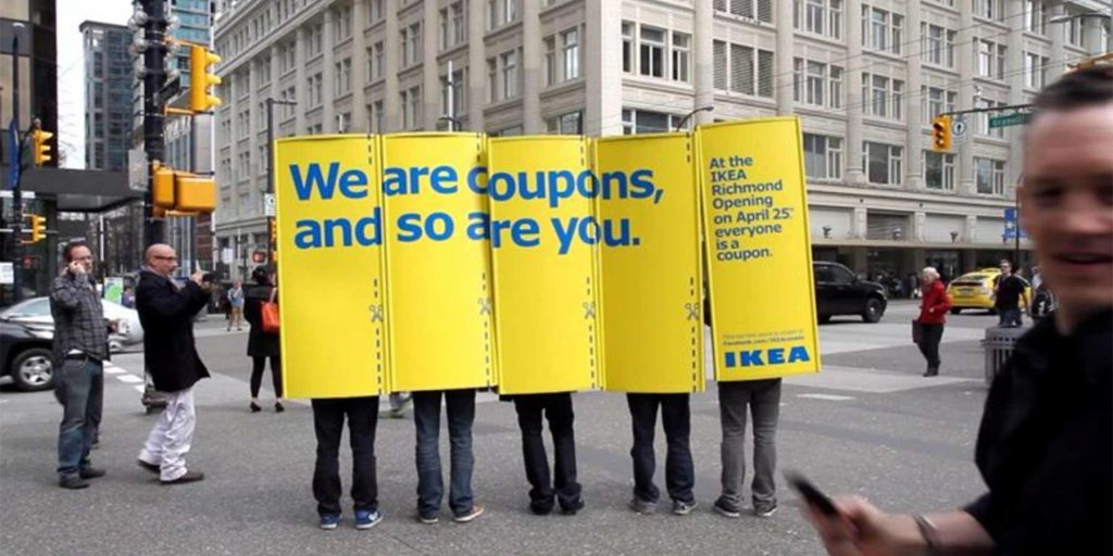 himan billboards for ikea