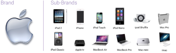 apple branded products show consistent branding messages