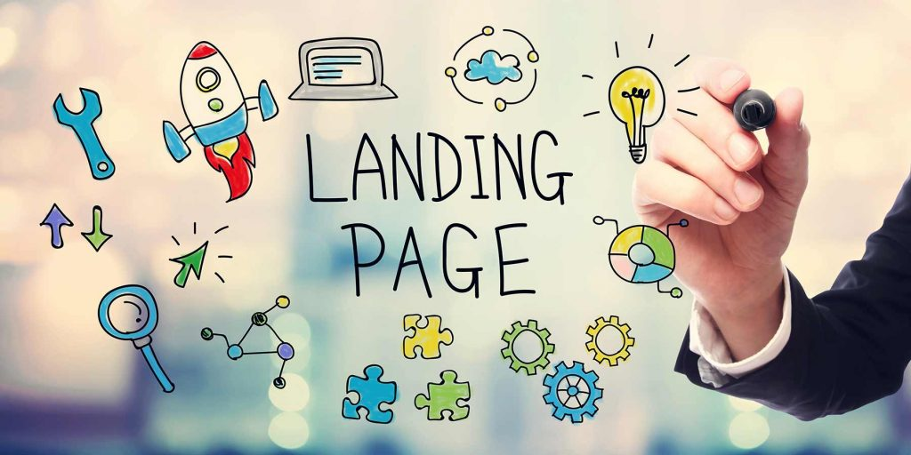 Landing pages for business