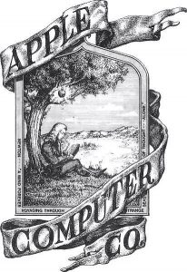 apple's first logo and branding
